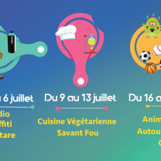 Stages & Activités Eté 2018
