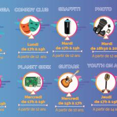Nos Ateliers Saison 2018-2019