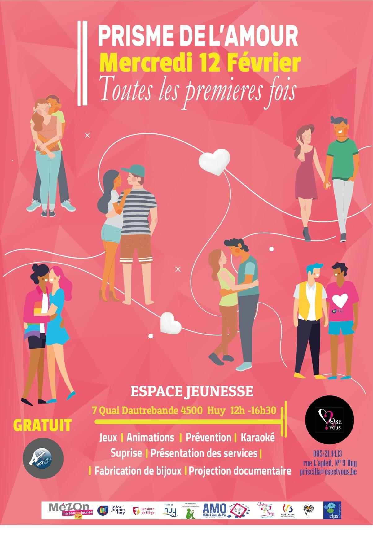 Le Prisme de l'Amour «Toutes les premières fois» – 12/02/2020
