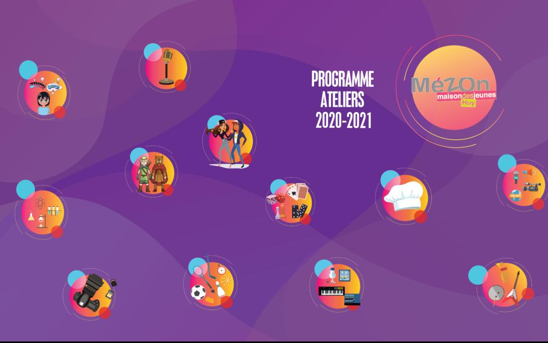 Les ateliers de la Mézon Saison 2020 -2021
