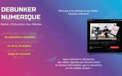 Projet :Debunker Numérique: de Septembre à Novembre